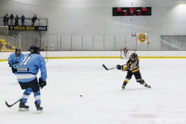 Boston Pride defender Alyssa Gagliardi (2) takes a shot on goal