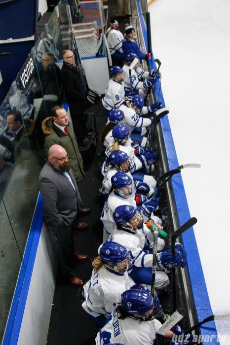 The Toronto Furies bench