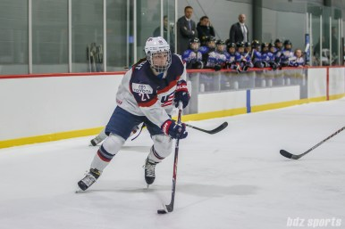 Team USA forward Hilary Knight (21)