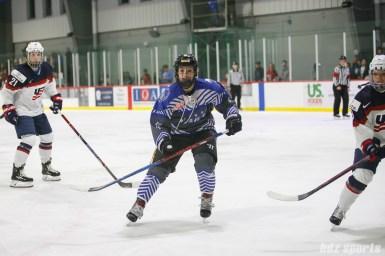 Team NWHL forward Dana Trivigno (17)