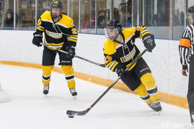 Boston Blades forward Melissa Bizzari (23)