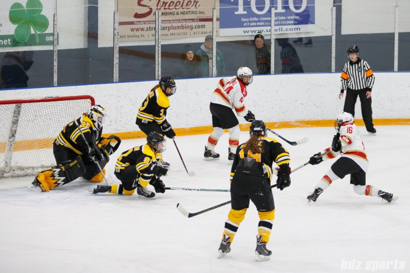 Kunlun Red Stars forward Kelli Stack (16) takes a shot on goal
