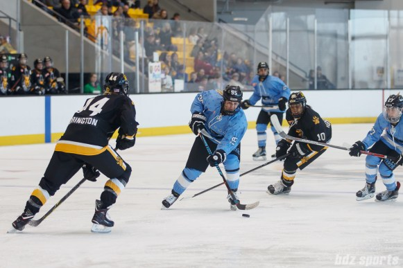 Buffalo Beauts forward Taylor Accursi (95)