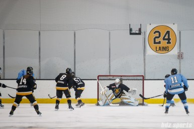 Boston Pride goalie Madison Litchfield (30)