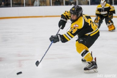 Boston Blades defender Kristina Brown (24)