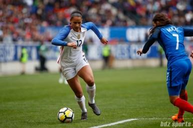 Team USA forward Lynn Williams (12)