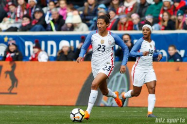 Team USA forward Christen Press (23)