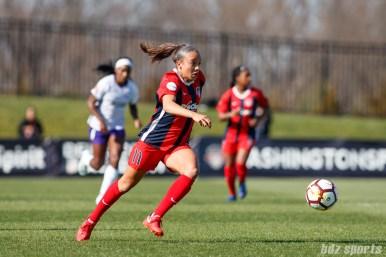 Washington Spirit forward Mallory Pugh (11)