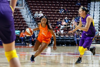 Connecticut Sun guard Lexie Brown (4)