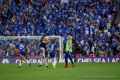 Chelsea FC Ladies win the FA Cup Titel 2018