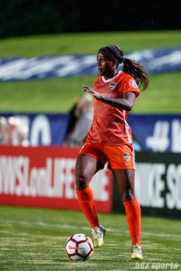 Houston Dash midfielder Nichelle Prince (14)
