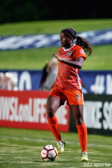 Houston Dash midfielder Nichelle Prince (14)