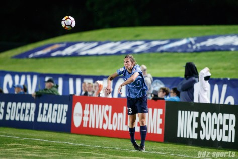 Sky Blue FC defender Rebekah Stott (13)