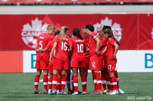 Canada Women's National Soccer Team vs Germany Women's National Soccer Team - June 10, 2018