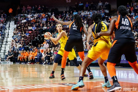 Indiana Fever forward Natalie Achonwa (11)