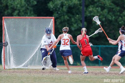 Upstate Pride goalie Molly Wolf (30)