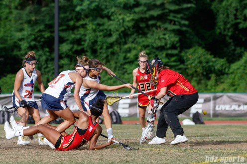 Upstate Pride attacker Olivia Hompe (22)