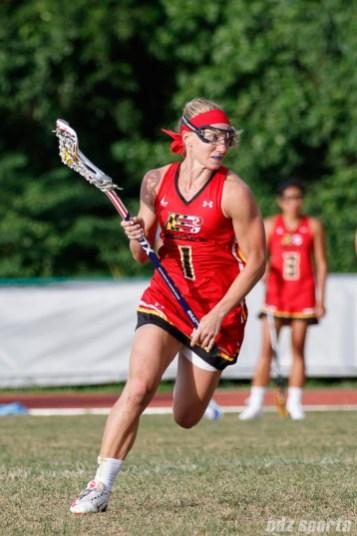 Baltimore Brave midfielder Laura Zimmerman (1)