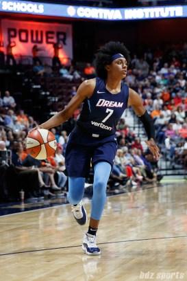 Atlanta Dream forward Brittney Sykes (7)