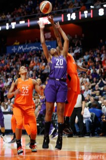Phoenix Mercury forward Camille Little (20)