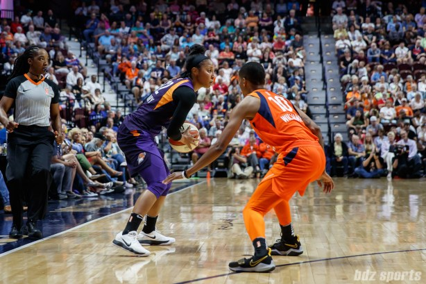 Phoenix Mercury guard Briann January (12)