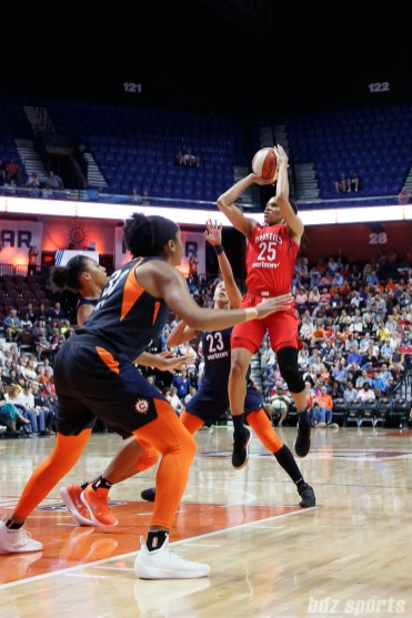 Washington Mystics forward Monique Currie (25)