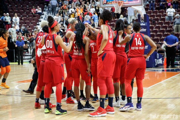 WNBA Connecticut Sun vs Washington Mystics - July 24, 2018