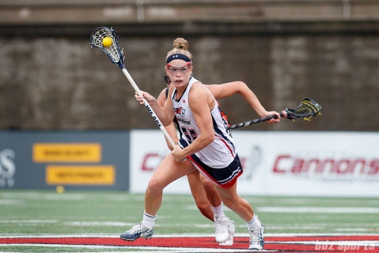 New England Command midfielder Katie O'Donnell (55)