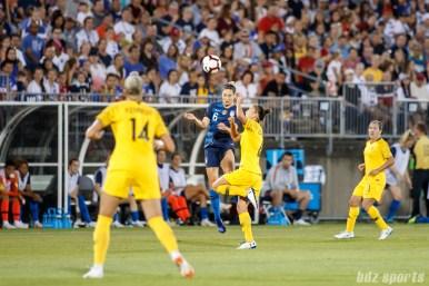 Team USA midfielder Morgan Brian (6)