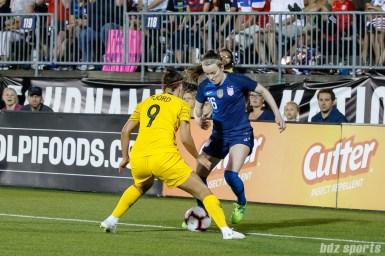 Team USA midfielder Rose Lavelle (16)
