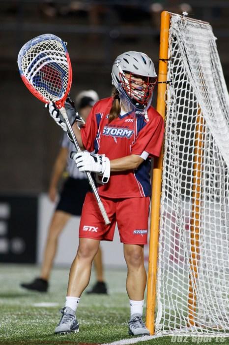 Boston Storm goalie Liz Hogan (2)