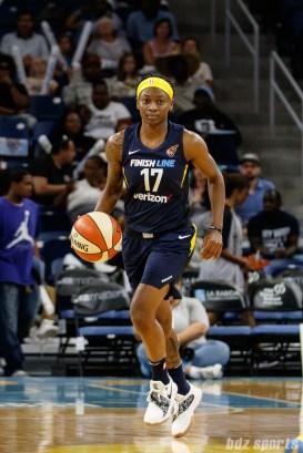 Indiana Fever guard Erica Wheeler (17)