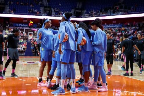 WNBA - Connecticut Sun vs Chicago Sky - August 12, 2018