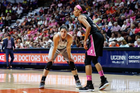 Las Vegas Aces guard Kelsey Plum (10)