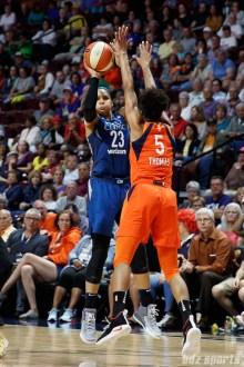 Minnesota Lynx forward Maya Moore (23)