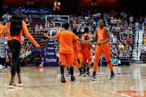WNBA - Connecticut Sun vs Minnesota Lynx - August 17, 2018