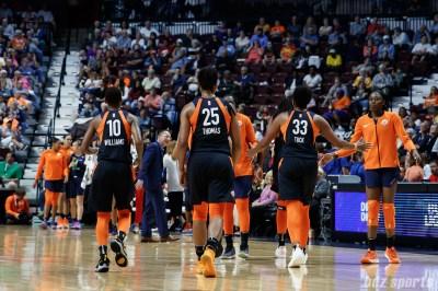 WNBA - Connecticut Sun vs New York Liberty - August 1, 2018