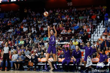 Phoenix Mercury guard Stephanie Talbot (8)