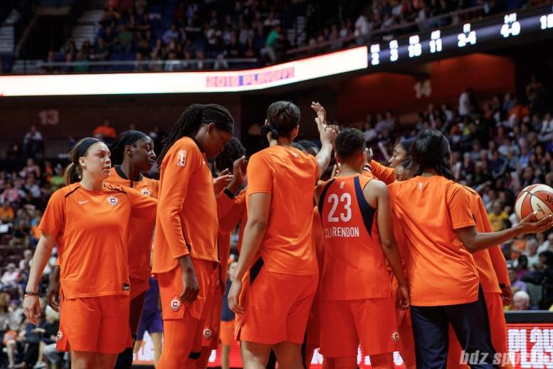 WNBA Connecticut Sun vs Phoenix Mercury -August 24, 2018