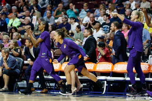 WNBA Connecticut Sun vs Phoenix Mercury -August 24, 2018