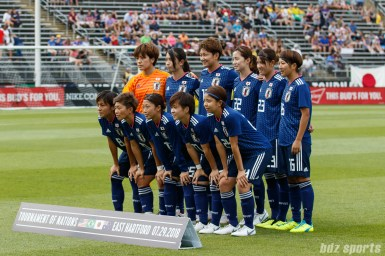 Japan women's national soccer team starting XI