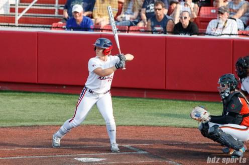 USSSA Pride outfielder Megan Wiggins (25)