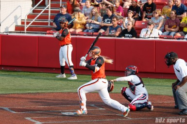 Chicago Bandits catcher Kristyn Sandberg (23)