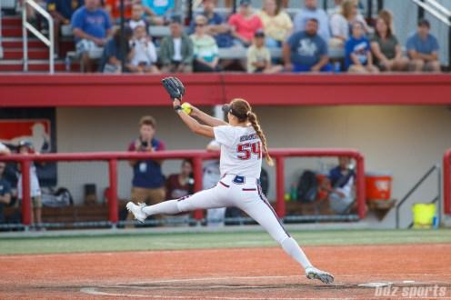 USSSA Pride pitcher Jolene Henderson (54)