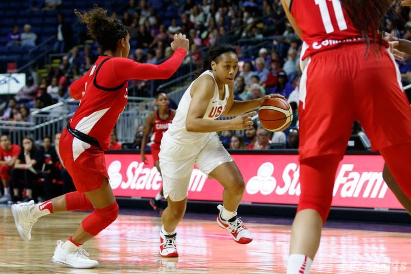 Team USA guard Allisha Gray (31)