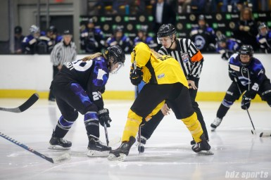 Minnesota Whitecaps forward Hannah Brandt (20) and Boston Pride defender Gigi Marvin (19)