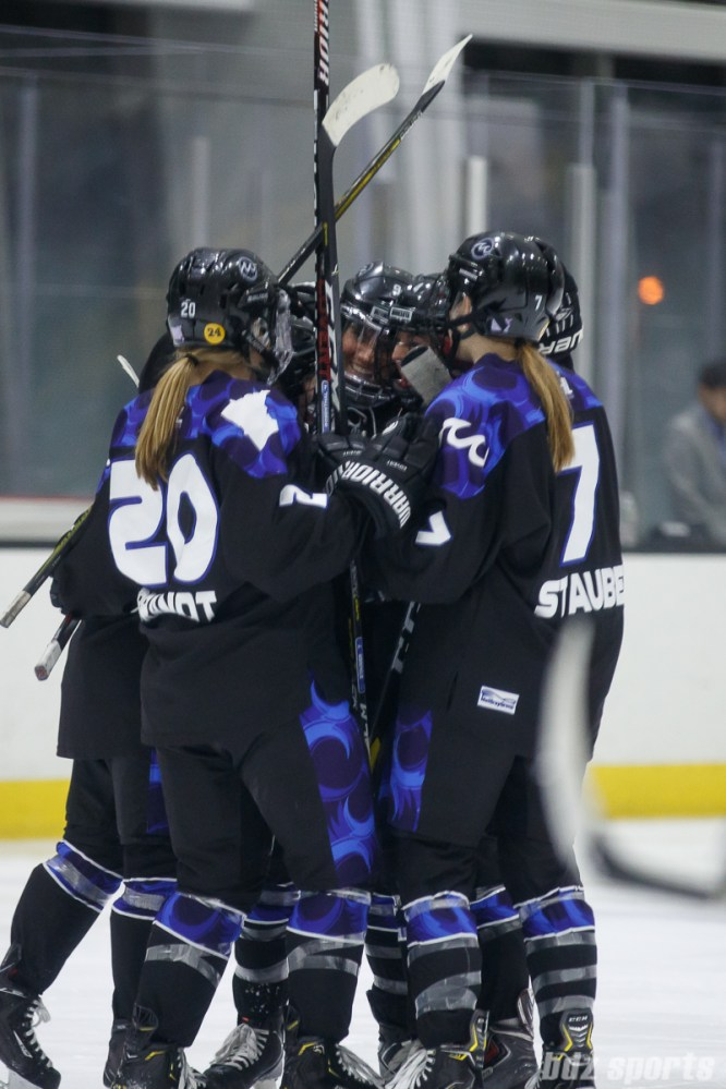 Minnesota Whitecaps celebration