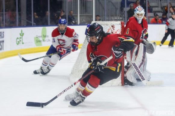 Calgary Inferno defender Brigette Lacquette (3)