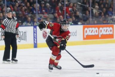 Calgary Inferno defender Kacey Bellamy (22)