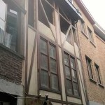 Chantier à Liège